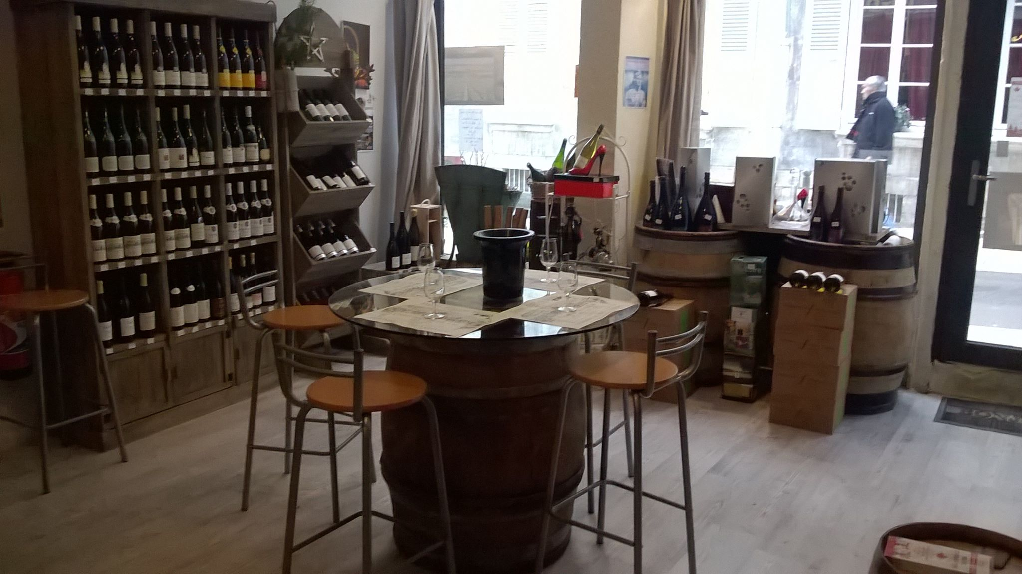 Boutique Le sommelier gourmand interieur